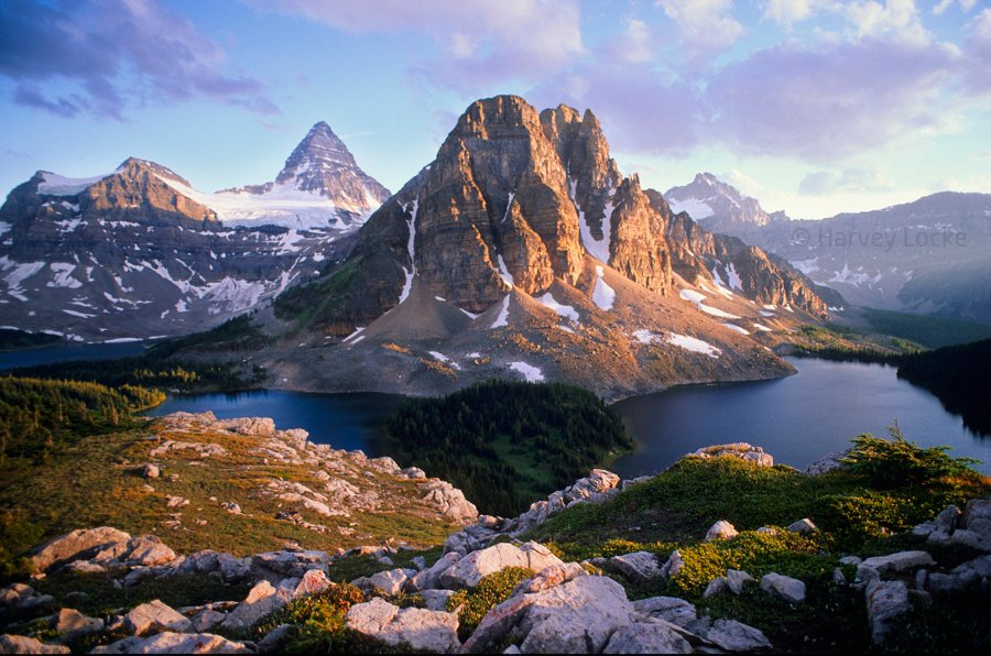Mt Assiniboine, British Columbia/Alberta border, Canada (1999)